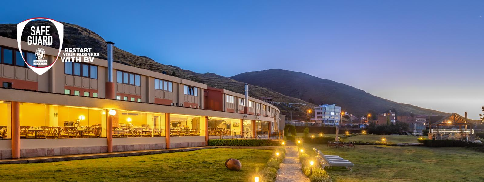 Inspired by your safety! - Sonesta Hotel Posadas del Inca Puno - Puno
